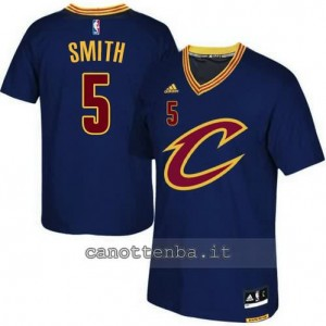 canotte smith #5 cleveland cavaliers 2015-2016 blu