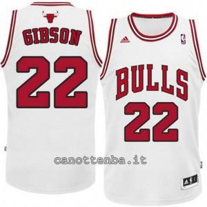 canotte taj gibson #22 chicago bulls revolution 30 bianca