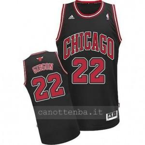 canotte taj gibson #22 chicago bulls revolution 30 nero
