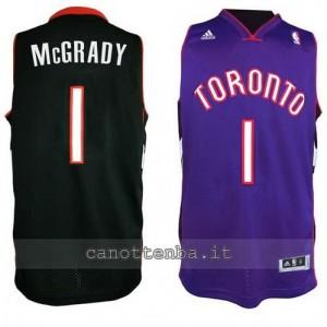 canotte tracy McGrady #1 toronto raptors revolution 30