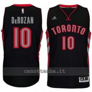 maglia DeMar DeRozan #10 toronto raptors 2014-2015 nero