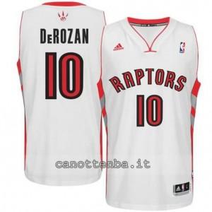 maglia DeMar DeRozan #10 toronto raptors revolution 30 bianca