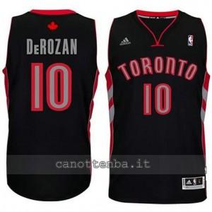 maglia DeMar DeRozan #10 toronto raptors revolution 30 nero