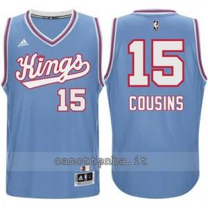 maglia DeMarcus cousins #15 sacramento kings 198#5-1986 retro