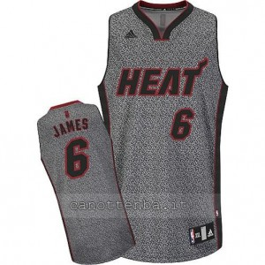 maglia LeBron James #6 miami heat moda static