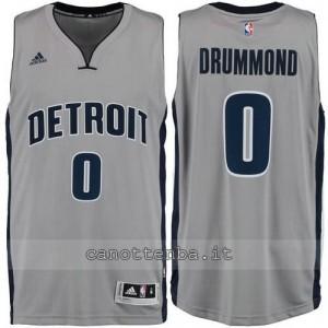 maglia andre drummond #0 detroit pistons grigio