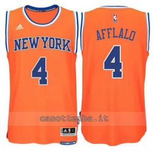 maglia arron afflalo #4 new york knicks 2015 swingman arancia