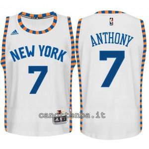 maglia bambino new york knicks carmelo anthony #7 bianca