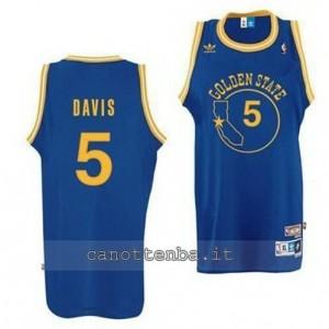 maglia baron davis #5 golden state warriors classico blu