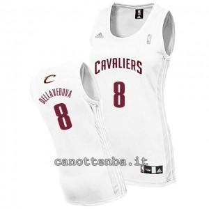 maglia basket donna matthew dellavedova #8 cleveland cavaliers bianca