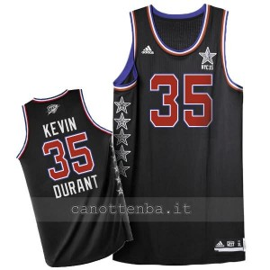 maglia basket kevin durant #35 nba all star 2015 nero