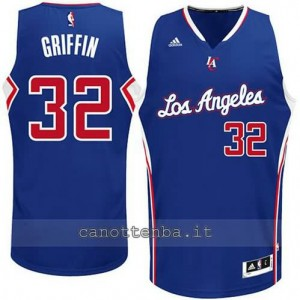maglia blake griffin #32 los angeles clippers 2014-2015 blu