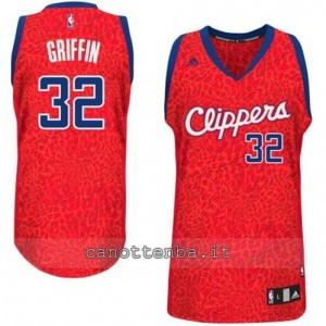 maglia blake griffin #32 los angeles clippers leopard