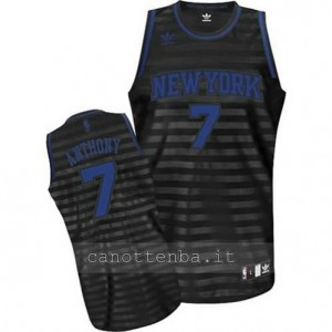maglia carmelo anthony #7 new york knicks moda groove