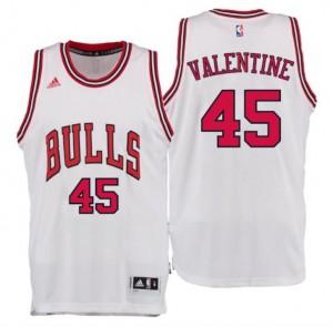maglia denzel valentine 45 chicago bulls draft 2016 bianca