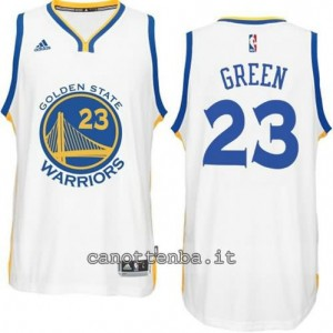 maglia draymond green #23 golden state warriors 2014-2015 bianca