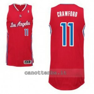maglia jamal crawford #11 los angeles clippers revolution 30 rosso