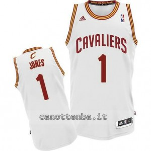 maglia james jones #1 cleveland cavaliers revolution 30 bianca