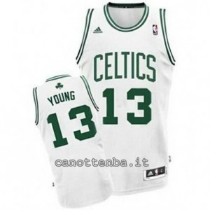 maglia james young #13 boston celtics revolution 30 bianca