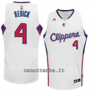 maglia jj redick #4 los angeles clippers 2014-2015 bianca