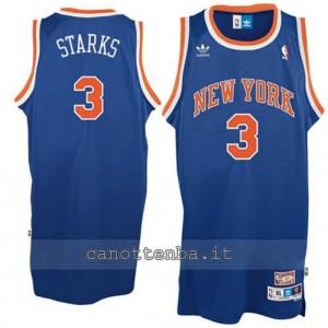 maglia john starks #3 new york knicks soul blu