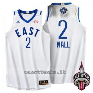 maglia john wall #2 nba all star 2016 bianca