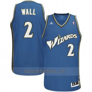 maglia john wall #2 washington wizards revolution 30 blu