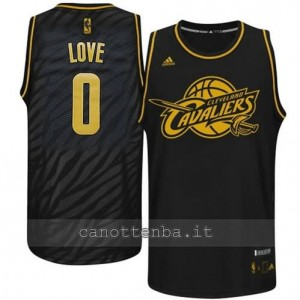 maglia kevin love #0 cleveland cavaliers moda nero
