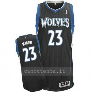 maglia kevin martin #23 minnesota timberwolves nero