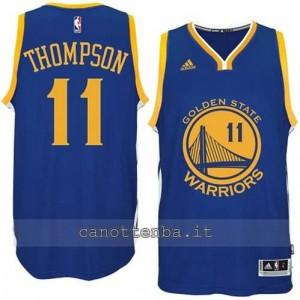 maglia klay thompson #11 golden state warriors 2014-2015 blu