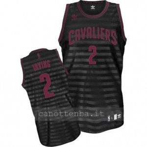 maglia kyrie irving #2 cleveland cavaliers revolution 30 nero