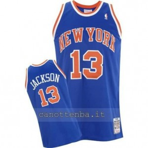 maglia mark jackson #13 new york knicks blu