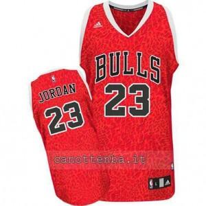 maglia michael jordan #23 chicago bulls pazzo rosso