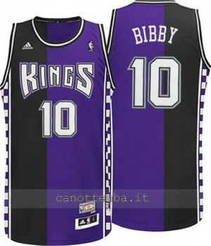 maglia mike bibby #10 sacramento kings moda classico