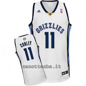 maglia mike conley #11 memphis grizzlies revolution 30 bianca