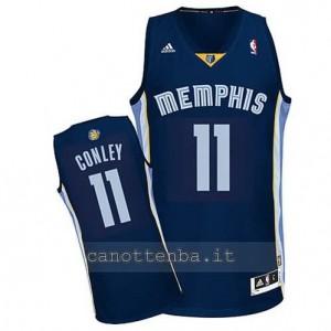 maglia mike conley #11 memphis grizzlies revolution 30 blu