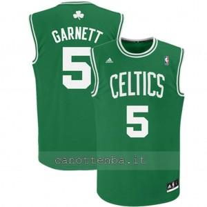 maglia nba bambino boston celtics kevin garnett #5 verde