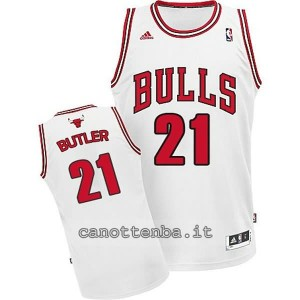 maglia nba bambino chicago bulls jimmy butler #21 bianca