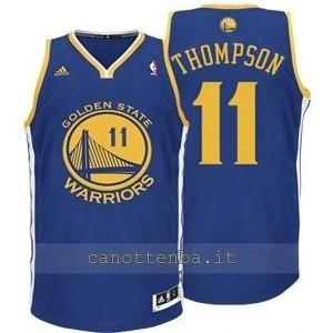 maglia nba bambino golden state warriors klay thompson #11 blu