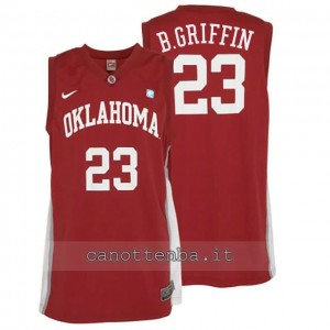 maglia ncaa oklahoma sooners blake griffin #23 rosso