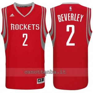 maglia patrick beverley #2 houston rockets 2014-2015 rosso