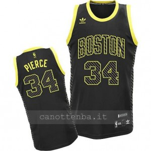maglia paul pierce #34 boston celtics moda nero