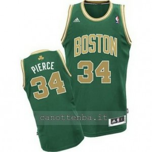 maglia paul pierce #34 boston celtics revolution 30 d'oro