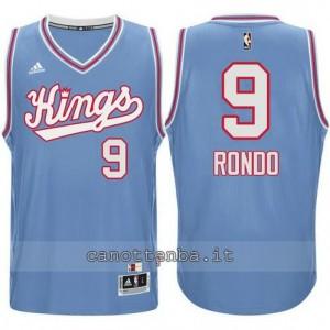 maglia rajon rondo #9 sacramento kings 198#5-1986 retro