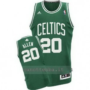 maglia ray allen #20 boston celtics revolution 30 verde