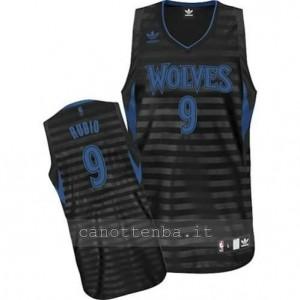 maglia ricky rubio #9 minnesota timberwolves moda groove