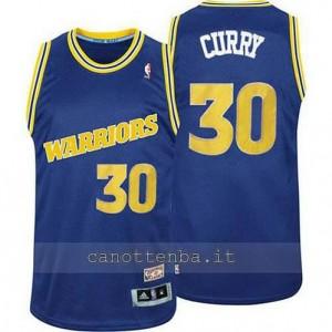 maglia stephen curry #30 golden state warriors classico blu