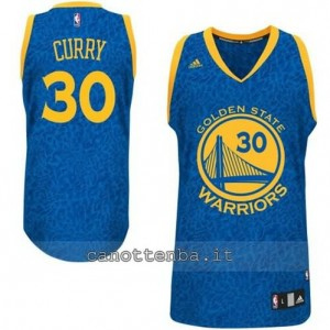 maglia stephen curry #30 golden state warriors leopard