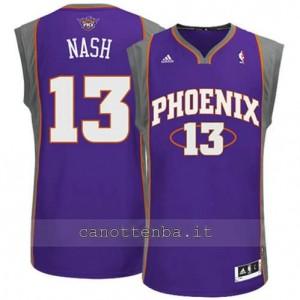 maglia steve nash #13 phoenix suns revolution 30 porpora