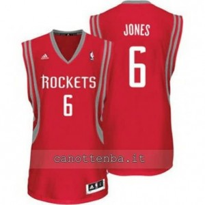 maglia terrence jones #6 houston rockets revolution 30 rosso